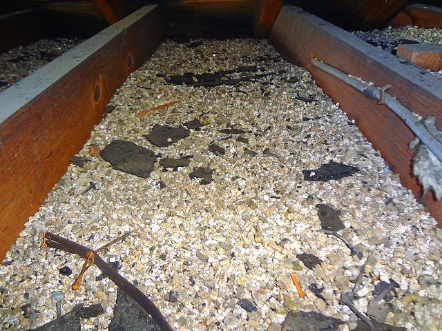 Attic Vermiculite
